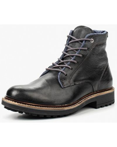 Ботинки осенние кожаные португальские Bata