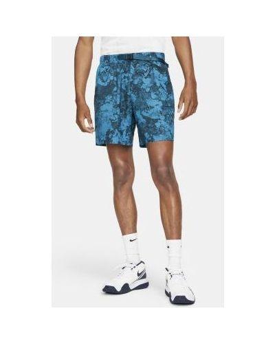 Теннисные шорты для полных эластичные Nike