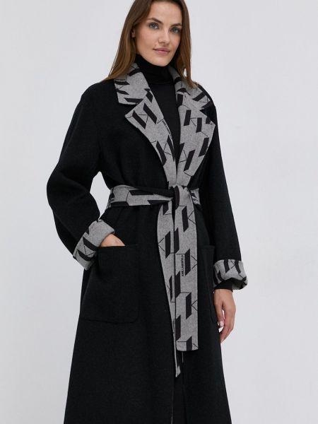 Шерстяное пальто Karl Lagerfeld