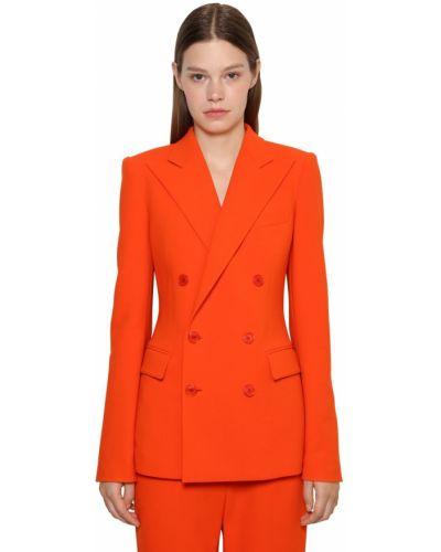 Шерстяная куртка - оранжевая Ralph Lauren Collection
