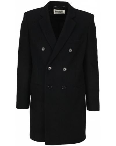 Płaszcz dwurzędowy od płaszcza przeciwdeszczowego Saint Laurent