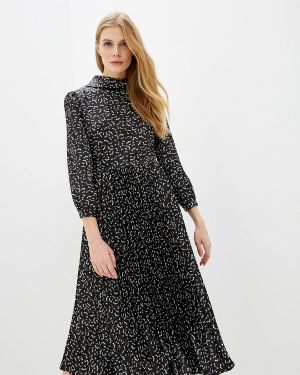 Повседневное платье осеннее черное Marks & Spencer