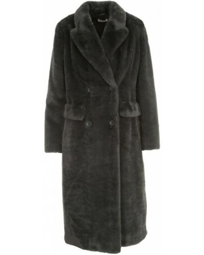Szary płaszcz Parosh