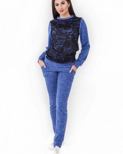 Спортивный костюм синий Milalux