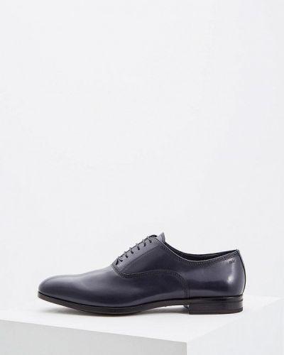 Синие туфли итальянские Fabi