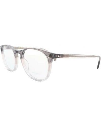 Białe okulary Oliver Peoples