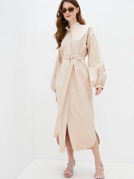 Бежевое платье Lipinskaya Brand