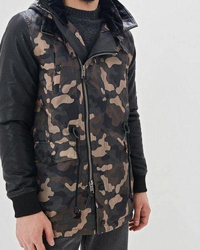 Утепленная куртка демисезонная зеленая Navahoo