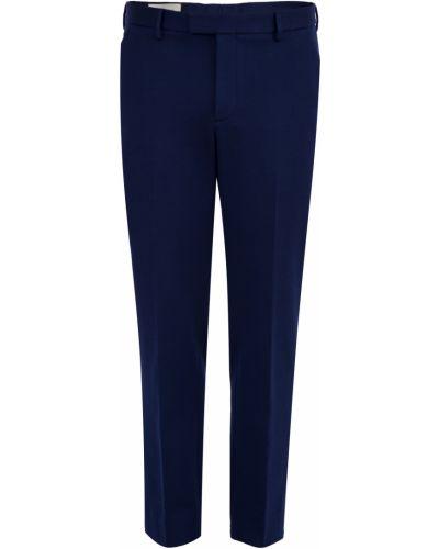 Прямые брюки с карманами хлопковые Gucci
