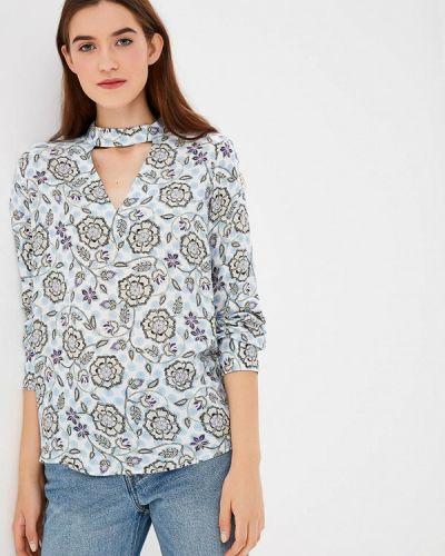 Голубая блузка с длинным рукавом S.oliver