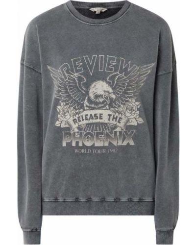 Czarna bluza z nadrukiem z printem Review