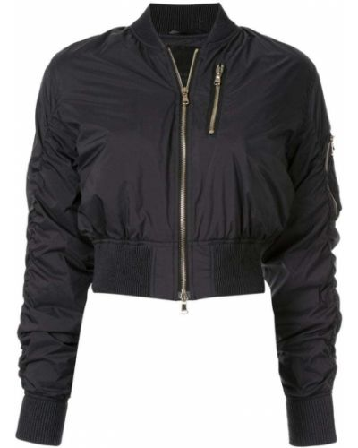 Черная короткая куртка с манжетами Tatras
