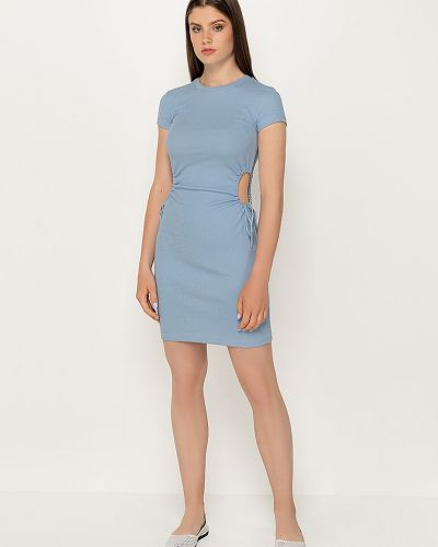 Платье - голубое Dilvin