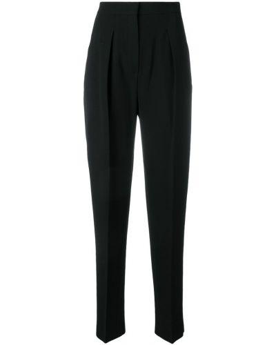 Прямые брюки - черные Max Mara Studio