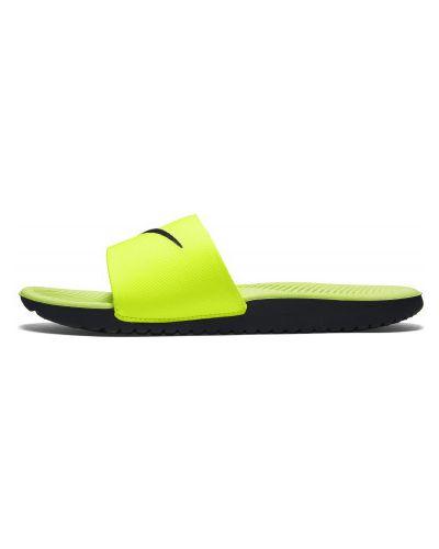 Шлепанцы пляжный зеленый Nike