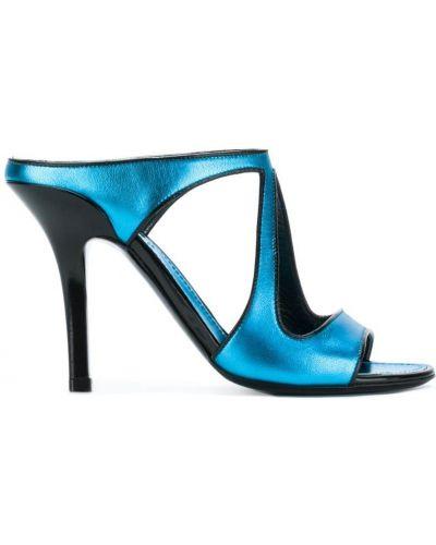 Синие босоножки Fabrizio Viti