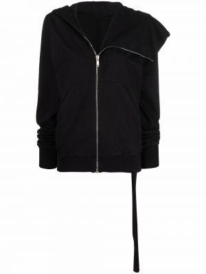 Куртка с капюшоном - черная Rick Owens Drkshdw