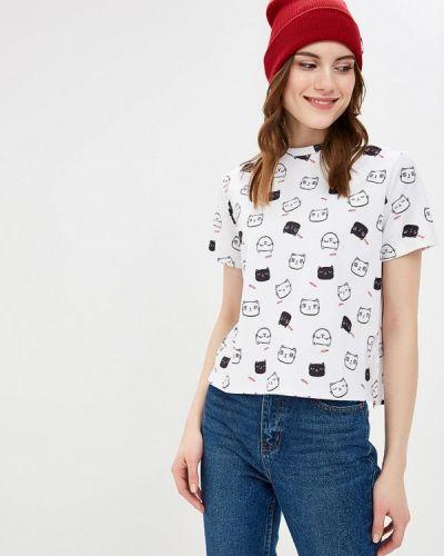 Белая футболка 2019 Befree
