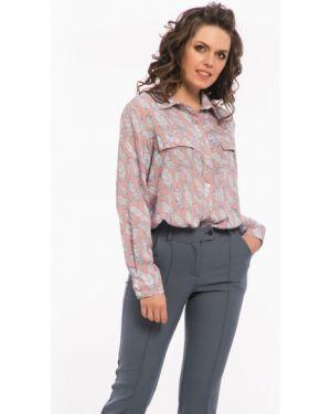 Длинная рубашка - розовая Modellos