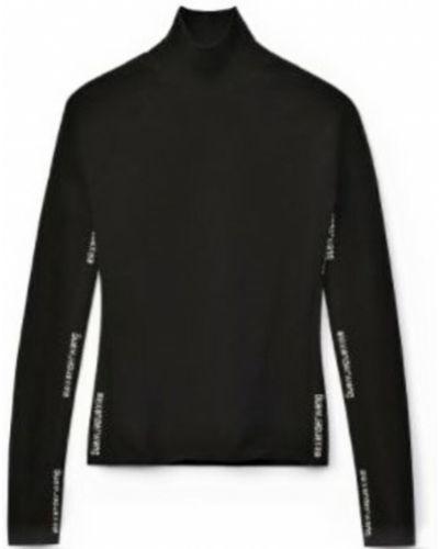 Czarny sweter Alexander Wang