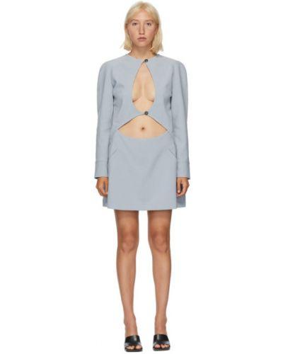 С рукавами открытое платье макси с карманами из вискозы Situationist