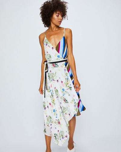 Платье миди с V-образным вырезом на бретелях Answear