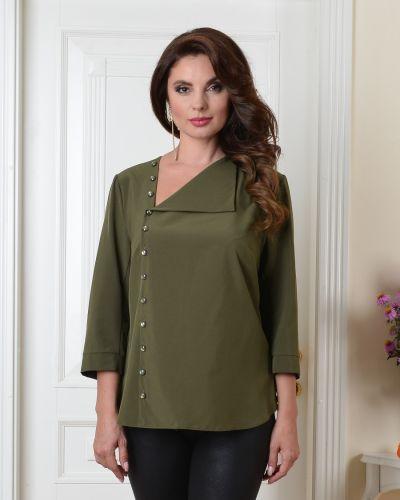 Нарядная с рукавами блузка с вырезом Salvi-s