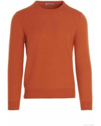 Sweter - pomarańczowy Laneus