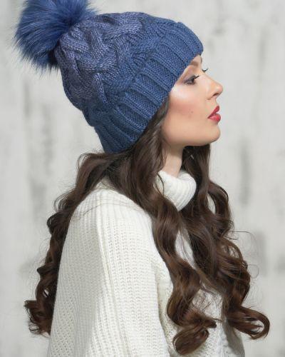 Синяя шапка Vay