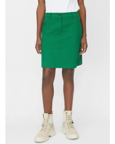 Klasyczna spódnica mini bawełniana Marc O Polo