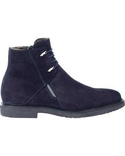 Ботинки осенние замшевые Cesare Paciotti