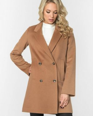 Пальто бежевое пальто A'tani