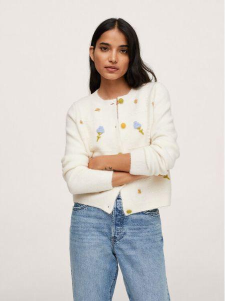 Beżowy sweter wiosenny Mango