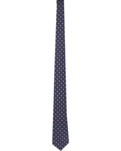 Zielony krawat z jedwabiu Gucci