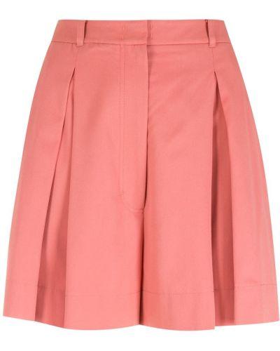Свободные хлопковые розовые шорты Nk