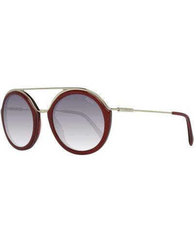 Czerwone okulary Emilio Pucci