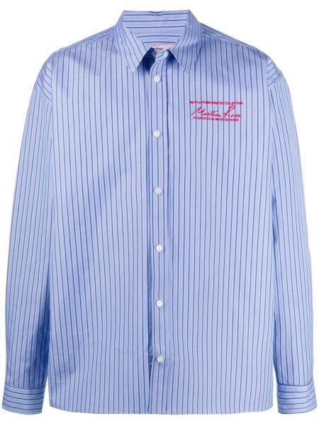 Koszula z długim rękawem klasyczna z paskami Martine Rose