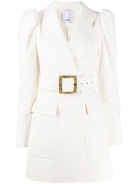 Платье макси с поясом с длинными рукавами Acler