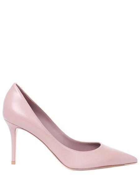 Туфли на каблуке кожаные на высоком каблуке Lesilla