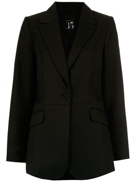 Черный пиджак на пуговицах Alcaçuz