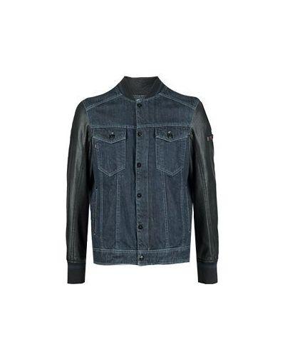 Джинсовая куртка синяя Strellson