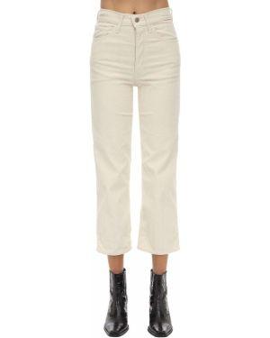 Кожаные брюки - бежевые Levi's Red Tab