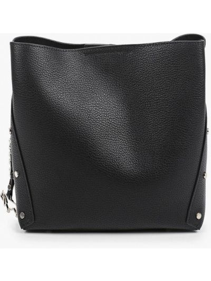 Черная кожаная сумка Labbra