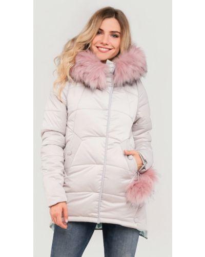 Утепленная куртка - белая Modniy Oazis