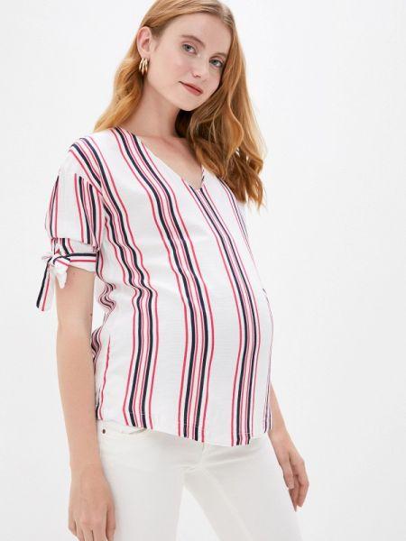 Блузка с коротким рукавом розовая весенний Budumamoy