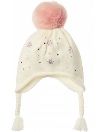 Зимняя шапка бежевая Mothercare