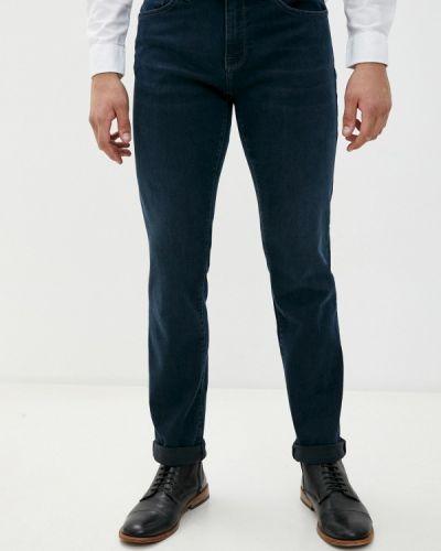 Синие прямые джинсы Mavi