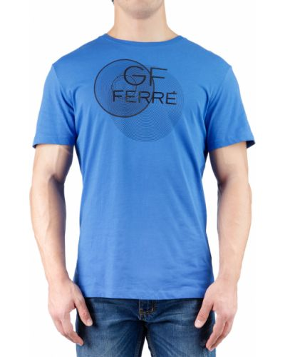 Футболка синий Gf Ferre