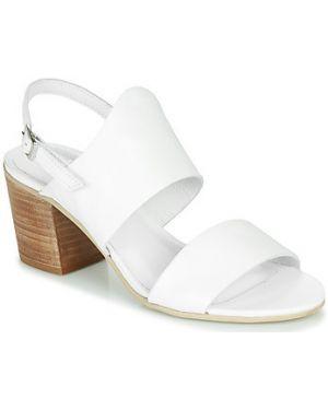 Białe sandały Felmini