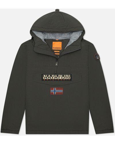 Серая куртка из полиамида Napapijri